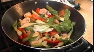 A Quick Shrimp Stir Fry.