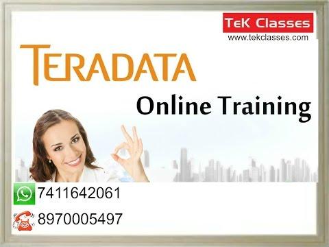 Teradata ETL (Extract, Transform and Load) or Data Warehousing