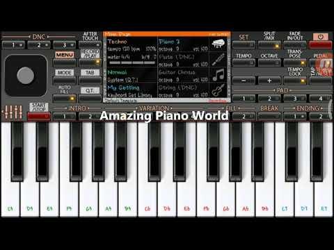 Hamari Adhuri Kahani (Arijit Singh) | Mobile Piano Tutorial
