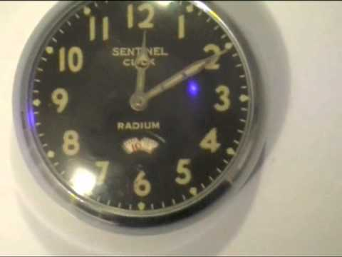 radium radioactive watches paint watch luminous