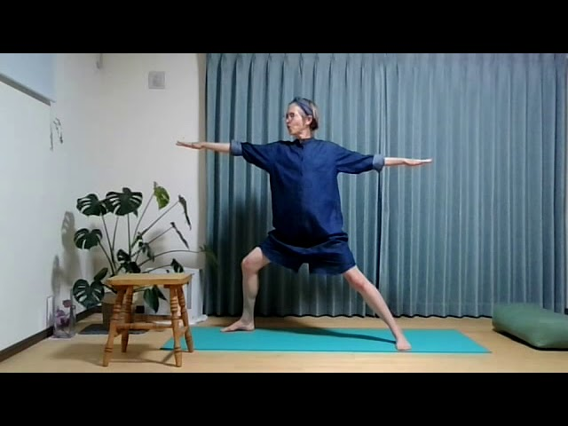English yoga lesson: connectionについて  Practice!