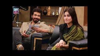 "Faysal Qureshi, Hina Altaf Khan & Gohar Mumtaz playing ""Rapid Fire"""