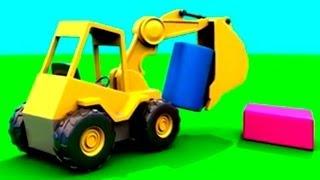 Cartoon für Kinder - Dodo der Bagger - Zylinder