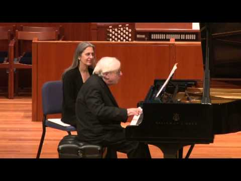 Richard Goode Performs Beethoven's Bagatelle, Op. 119, VI. Andante--Allegretto