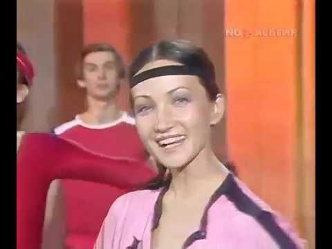 СССР. 1985г. Советская аэробика с Лилией Сабитовой.