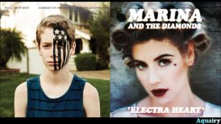 Fall Out Boy vs. Marina & the Diamonds - Bubblegum Thurman (Mashup)