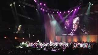 Andrea Bocelli - La Vie En Rose ft. Edith Piaf Beogradska arena 10.05.2013