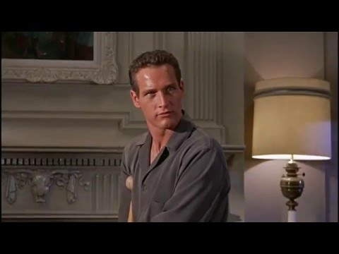 Paul Newman in Cat on a Hot Tin Roof 1957 HD