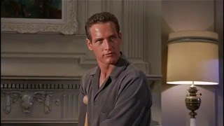 Paul Newman in Cat on a Hot Tin Roof (1957) HD