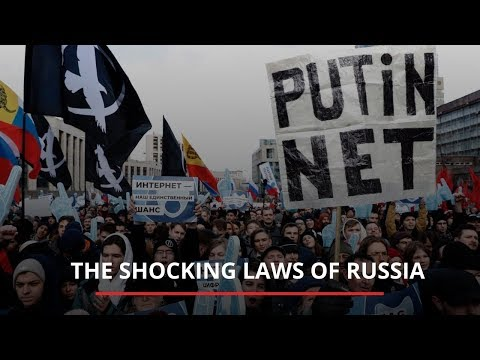 The shocking laws of Russia | News M.News World