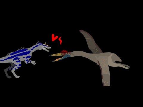 MBA: cryolophosaurus vs  quetzalcoatlus