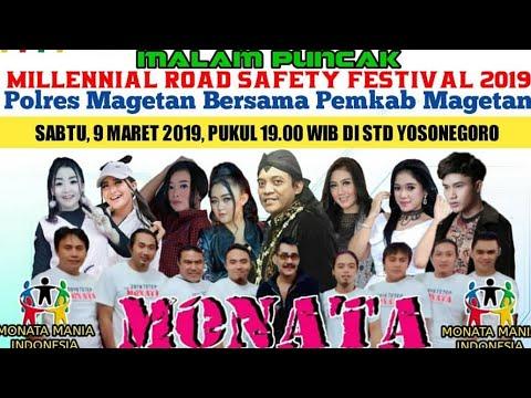 MALAM PUNCAK MILLENNIAL ROAD SAFETY FESTIVAL 2019 POLRES MAGETAN KOLABORASI PEMKAB MAGETAN