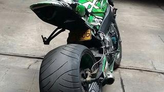 Kawasaki Zx7 colombia moto tuning streetfighter