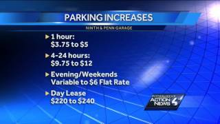 Pittsburgh Parking Authority raising rates
