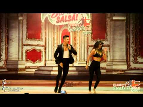 Rodrigo & Selene - Show - FUSION SALSA FEST 2014