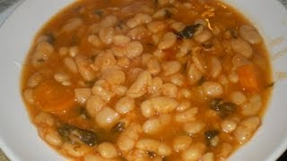 How To Make Traditional Greek Bean Soup (fasolada) - Recipe
