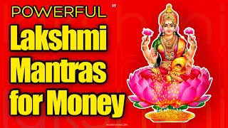Powerful Lakshmi Mantra For Money and Prosperity (3 Mantras)