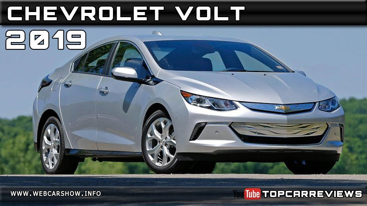 2019 Chevrolet Volt Review Rendered Price Specs Release Date