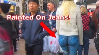Girl with No Pants Social Experiment