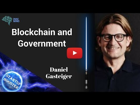 Startup Booster: Daniel Gasteiger, co-founder of Procivis, on Blockchain and eGovernment