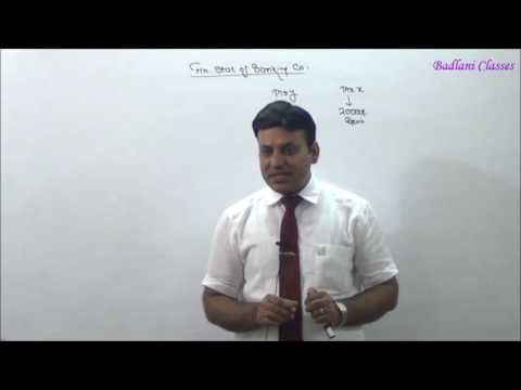 Accounts : Financial Statements of Banking Company : Lecture 1
