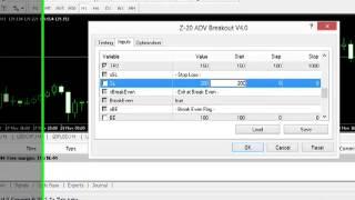 Optimising Z-20 ROBOT on EURJPY Pair on 1Hr Time Frame