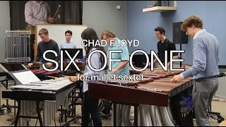 Six of One by Chad Floyd, The Florida State University Freshmen Percussion Sextet