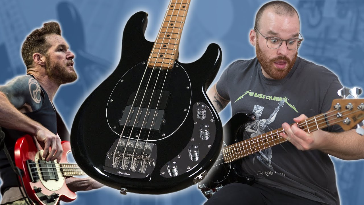LET YOUR TONE RAGE! - Music Man Tim Commerford StingRay Bass [Demo]
