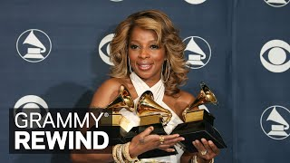 Watch Mary J. Blige Win Best R&B Album In 2007 | GRAMMY Rewind