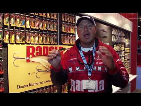 Rapala Scatter Rap Tail Dancer 2015 at ICAST 2015