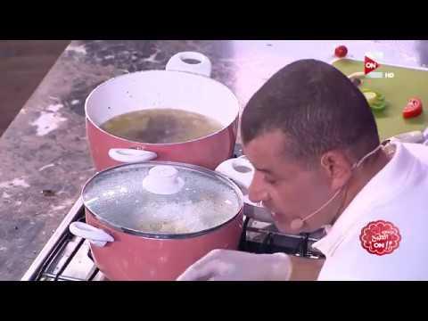 برنس الطبخ - رجاء الجداوي مع الشيف ناصر- طريقة الفتة و الكوارع و السجق البلدي - الحلقة الثالثة كاملة  - نشر قبل 1 ساعة