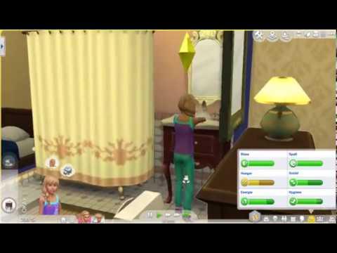 Die Sims 4 100 Baby Challenge Part 9 Überschwemmung Im Badezimmer Und Ein  Umstyling Für Jennifer