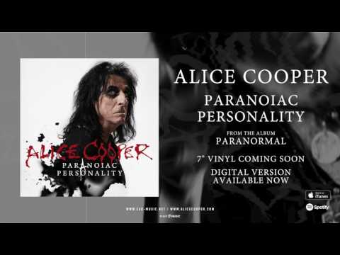 Alice Cooper Paranoiac Persality  Sg Stream from the Album Paranormal