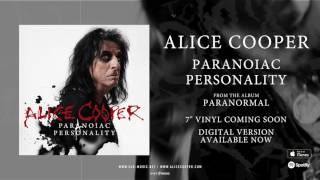 "Alice Cooper ""Paranoiac Personality"" Official Song Stream from the Album ""Paranormal"""