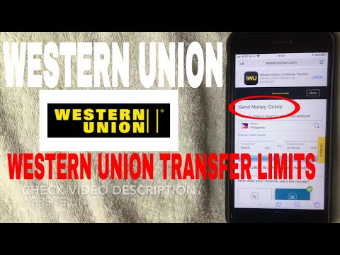 ✅  What Are Western Union Money Transfer Limits?  🔴