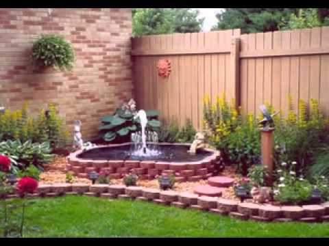 Small Back Garden Ideas YouTube Enchanting Ideas For Backyard Gardens Ideas