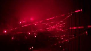 Лазерный лабиринт, лазерное музыкальное шоу на День Независимости Латвийской Республики в Риге