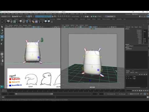 3/16 - Blocking the First Pose of Our Flour Sack Wave Animation