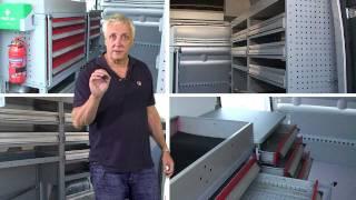 Internal Modular Van Racking
