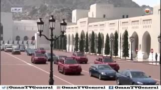 فيديو استقبال السلطان قابوس الرئيس الايراني