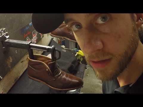 Timberland chukka boot, ASMR