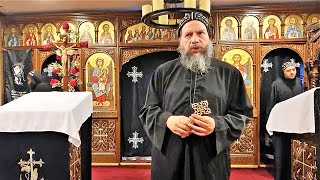 HG Bishop Youssef: Great Friday~ Evening Pascha @ St Mary & St Moses Abbey, TX ~ 04/16/2020