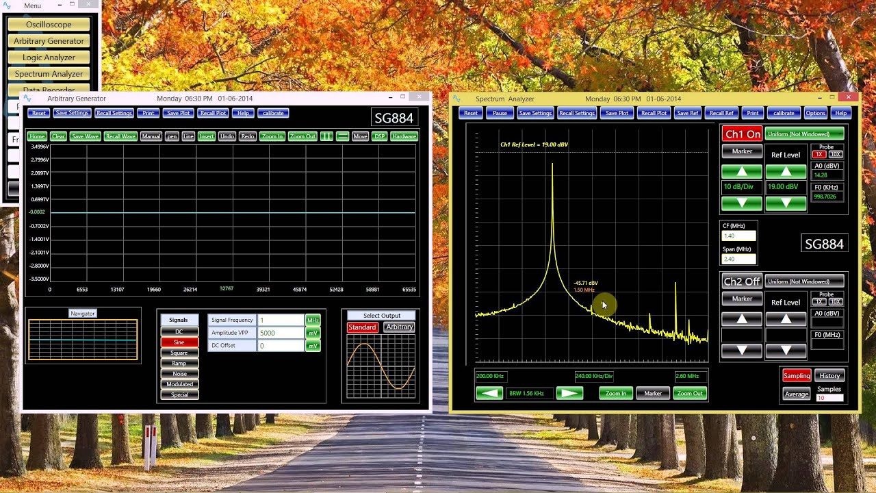 Spectrum Analyzer Tutorial