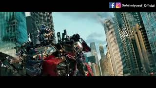 """Even Optimus Prime got stuck with the """"Be-ning-ging"""" virus 