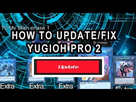 HOW TO UPDATE YGOPRO 2, THE BANLIST, UPDATE CARDS, TROUBLESHOOTING YGOPRO 2