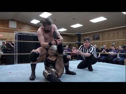 Angel Sinclair Vs. Covey Christ - Limitless Wrestling (Intergender, Mixed, Let's Wrestle)