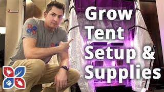 Do My Own Gardening - Grow Tent Setup and Supplies