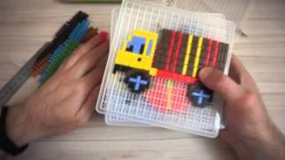 Мозаика Апплика.  Обзор набора для детского творчества