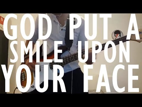 Coldplay - God Put A Smile Upon Your Face | Bass cover