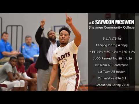 Sayveon McEwen - 2018 GUARD Shawnee Community College